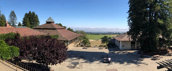 Cowell College Panorama Photo